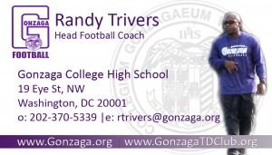 Randy Trivers, Gonzaga Head Football Coach