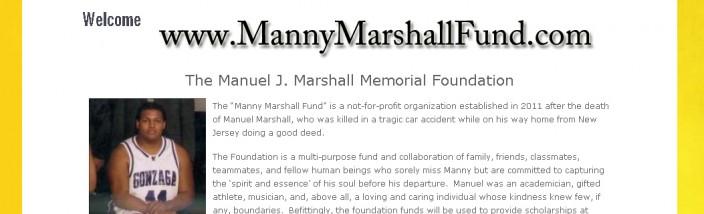 www.MannyMarshallFund.com