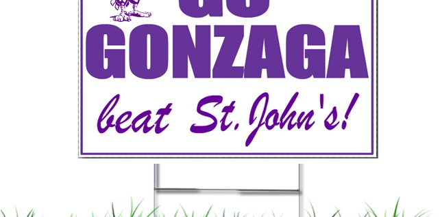GTDC - Beat St John's yard signs