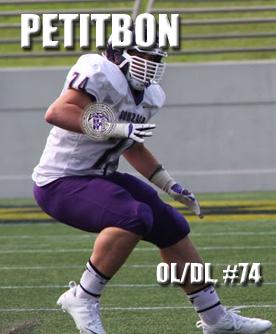 OL/DL Richie Petitbon 2015