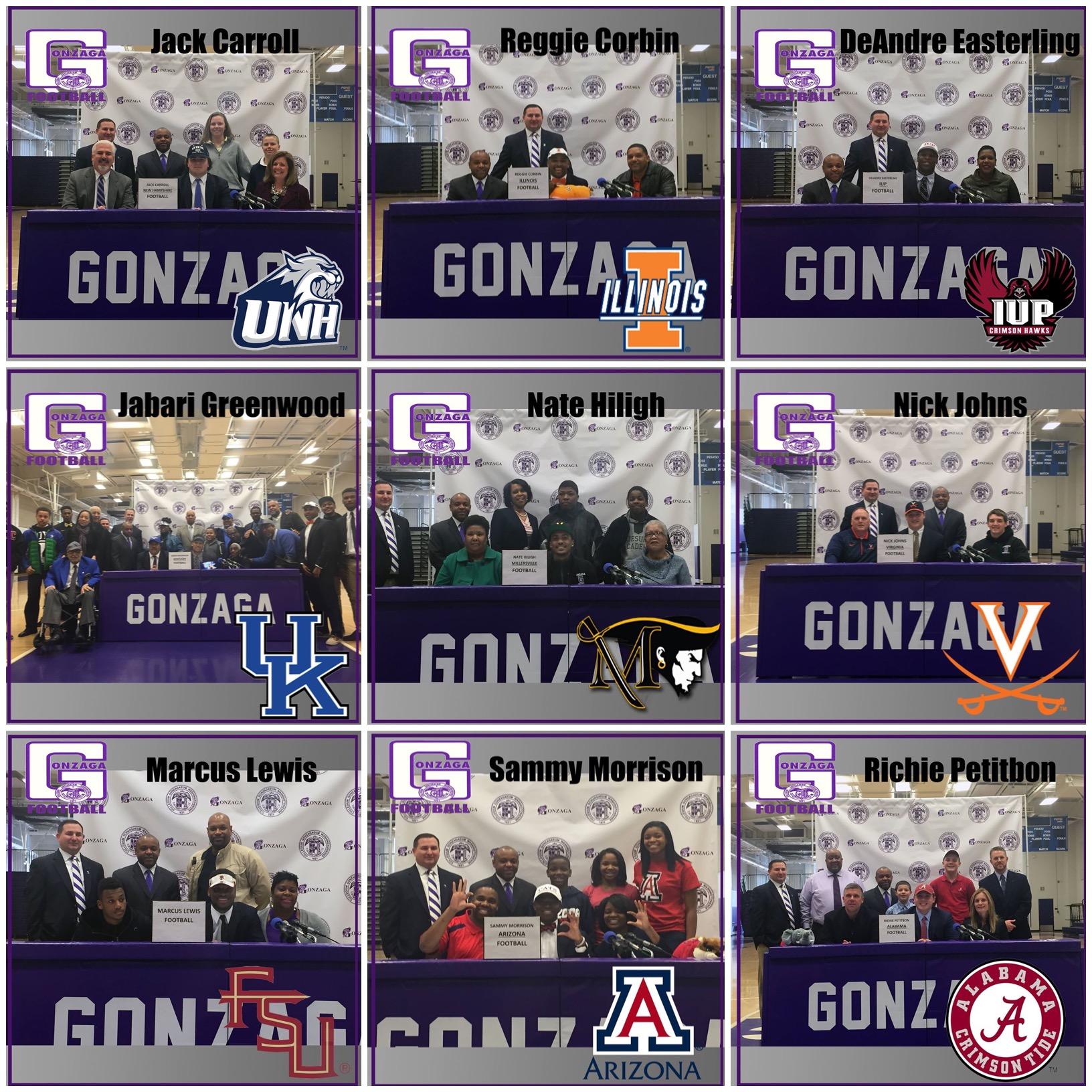 G football commits (2015)