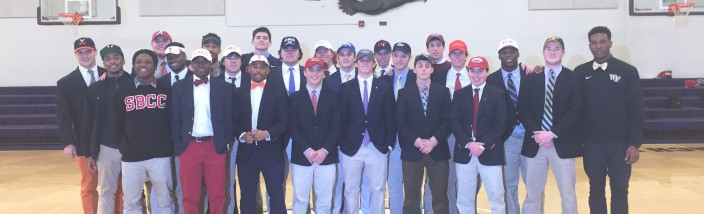 all gonzaga sports signees (2015)
