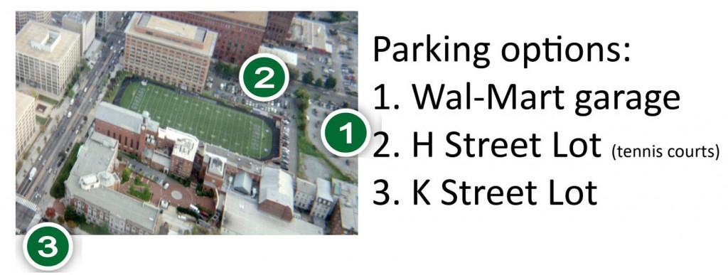 Gonzaga Parking Options