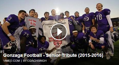 2016 Senior Tribute Video