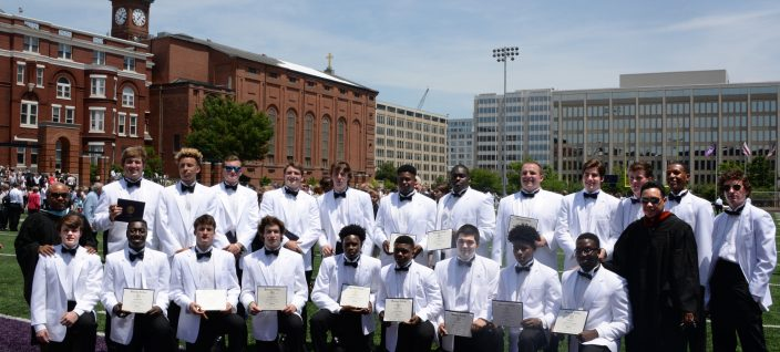 Class of 2017 - Commencement Celebration on Buchanan Field